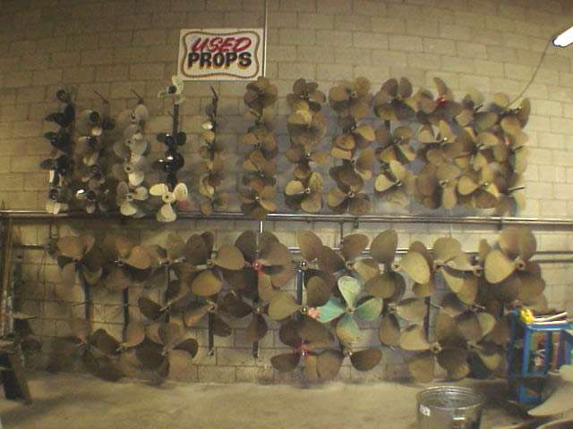 Used Boat Propellers
