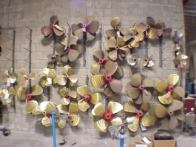 New Boat Propellers