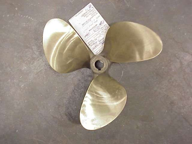 A Repaired Boat Propeller