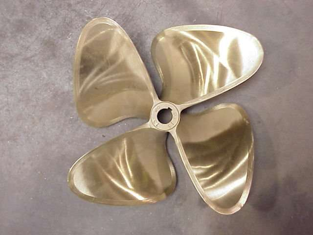 A New Boat Propeller